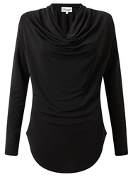 Alice By Temperley Somerset By Alice Temperley Cowl Neck Jersey Top Black