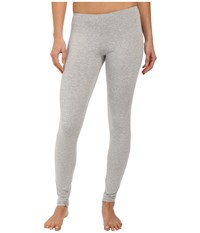 Only Hearts Club So Fine Leggings Heather Grey Women's Pajama Gray