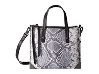 Botkier Jane Mini Tote Black Snake Tote Handbags