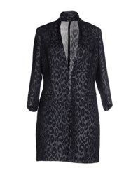 Hanita Coats And Jackets Full Length Jackets Women Dark Blue