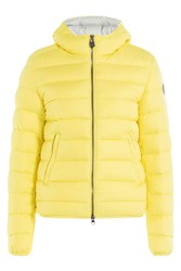 Colmar Odyssey Quilted Down Jacket With Hood Yellow