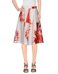 Siste's Siste' S Skirts Knee Length Skirts Women White