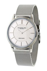 Stuhrling Men's Newberry Quartz Watch Metallic