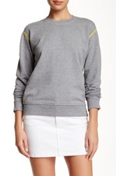 Marc By Marc Jacobs Crew Neck Sweatshirt Gray