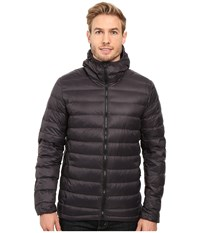 Adidas Light Down Hooded Jacket Utility Black Men's Coat