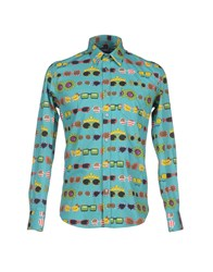 Department 5 Shirts Shirts Men Turquoise