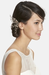 Twigs U0026 Honey Crystal And Pearl Comb Gold