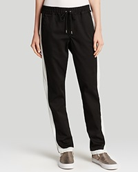 Joe's Jeans Pants Exclusive Off Duty Tao Dance Slim Jogger Black White
