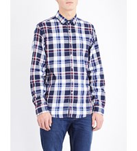 Tommy Hilfiger Charly New York Fit Check Print Cotton Shirt Multi