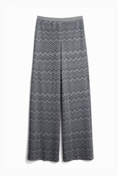Missoni Zigzag Wide Leg Trouser Grey