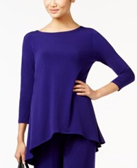 Alfani Jersey High Low Tunic Only At Macy's Alf French Plum