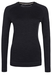Smartwool Next To Skin Baselayer Long Sleeved Top Charcoal Heather Grey
