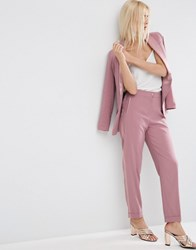 Asos Occasion Summer Tux Trouser Dusky Pink