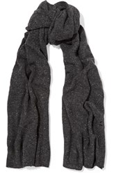 Autumn Cashmere Scarf Dark Gray