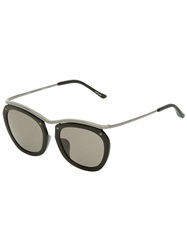 Dries Van Noten '50 C5' Sunglasses Black