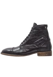 Sneaky Steve Conway Laceup Boots Black