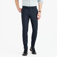 J.Crew Bowery Slim Pant In Glen Plaid Wool