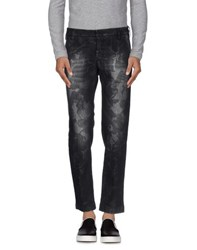 Entre Amis Men Denim Denim Trousers Men Black