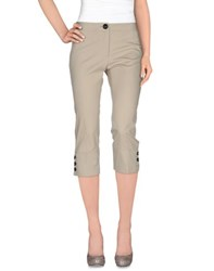 Burberry London Trousers 3 4 Length Trousers Women
