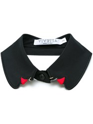Vivetta Removable Collar Black