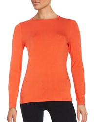 Lord And Taylor Crewneck Tee Spice