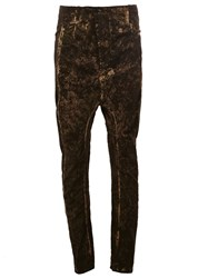 11 By Boris Bidjan Saberi Camouflage Pattern Trousers Green