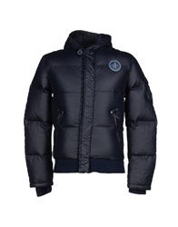 Murphy And Nye Down Jackets Dark Blue