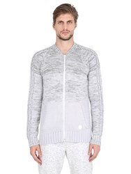 Adidas By Wings And Horns Ombre Wool Cotton Tracktop Sweater