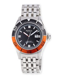 Breil Milano Manta Watch Orange Black Breil