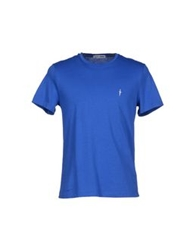 Cesare Paciotti 4Us T Shirts Bright Blue