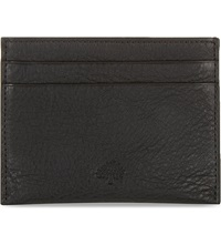 Mulberry Leather Card Holder Black