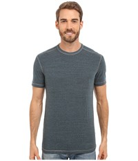 Agave Denim Albion Short Sleeve Crew Citadel Men's Short Sleeve Pullover Gray