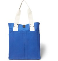 Albam Canvas Tote Bag Navy