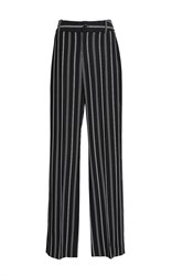 Lanvin Striped Pyjama Trousers Black