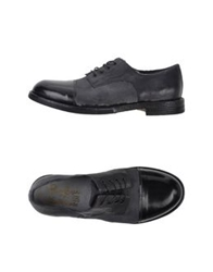 Primabase Lace Up Shoes Black
