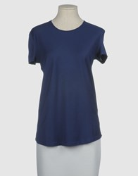 Stefano Mortari Short Sleeve T Shirts Bright Blue