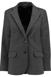 Marc By Marc Jacobs Woven Boyfriend Blazer Gray