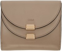 Chloe Grey Georgia Square Wallet