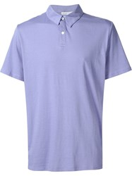 Onia 'Alec' Polo Shirt Pink And Purple