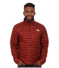 The North Face Thermoball Full Zip Jacket Brick House Red Men's Coat