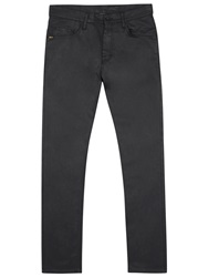 Tiger Of Sweden Pistolero Black Coated Slim Leg Jeans