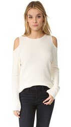 Velvet Avril Cashmere Top Milk