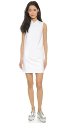 O'2nd David Collared Dress White