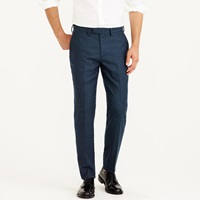J.Crew Bowery Classic In Brushed Hopsack Wool