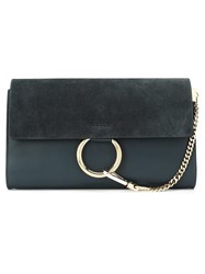 Chloe 'Faye' Clutch Blue