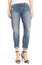 Women's Lucky Brand 'Sienna' Stretch Slim Ankle Boyfriend Jeans Crosby