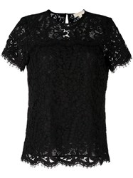 Michael Michael Kors Lace T Shirt Black