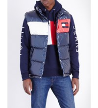 Tommy Jeans '90S Quilted Shell Gilet Peacoat Multi