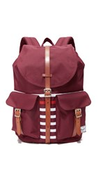 Herschel Large Dawson Backpack Windsor Wine Tan