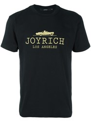 Joyrich Embroidered Logo T Shirt Black